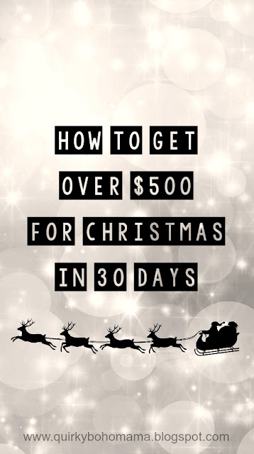 Get money for Christmas shopping fast. Earn extra cash for Christmas. Make money for Christmas.   earn extra money for christmas cash for christmas how to make money during the holidays part time jobs holidays how to make money during christmas season