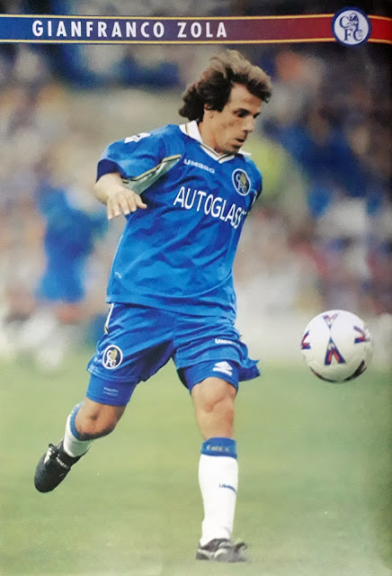 PIN UP GIANFRANCO ZOLA (CHELSEA)
