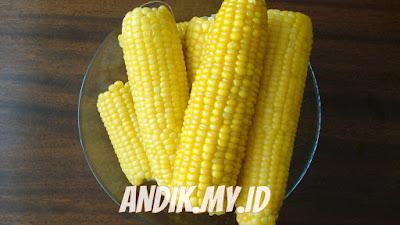 jagung, jagung rebus, jagung bakar,