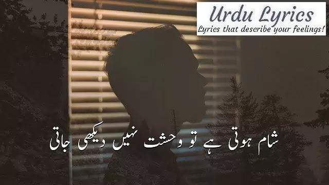 Chaarasazon Ki Aziyyat Nahin Dekhi Jati | Parveen Shakir | Urdu Poetry