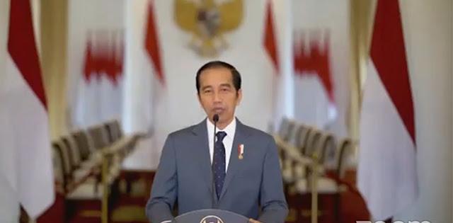 Di HUT PAN, Jokowi Sebut Ada Pihak Yang Terusik Jika Dilakukan Perubahan Besar