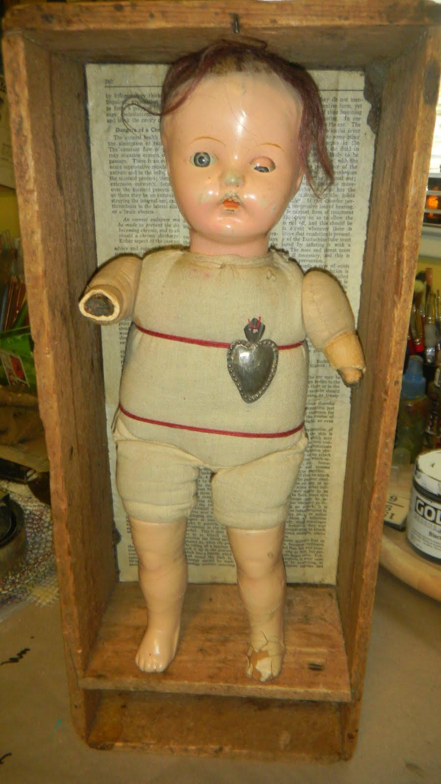 Alley Art Studio: Anatomy of a Creepy Doll: Meet Molly