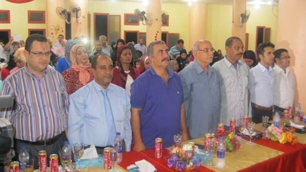 اختتام حفل توزيع الجوائز لاوائل المدارس الخاصة ببنى سويف