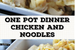 One Pot Dinner Chicken and Noodles