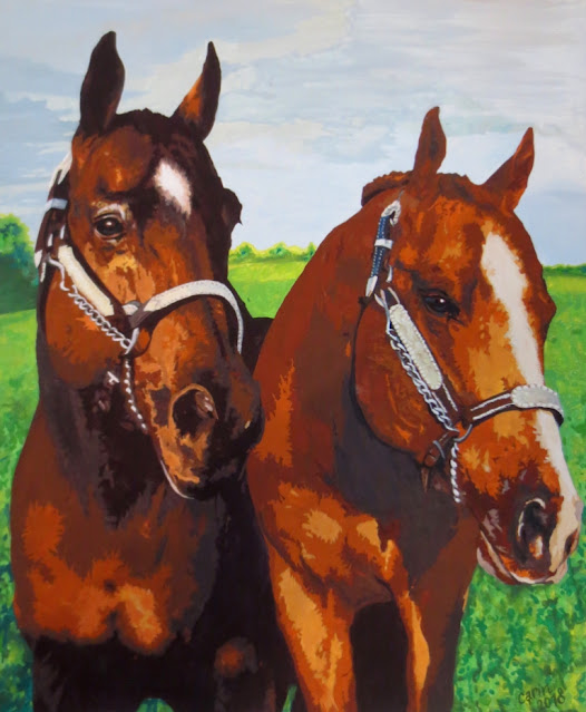 Horses (by Carin Steen)