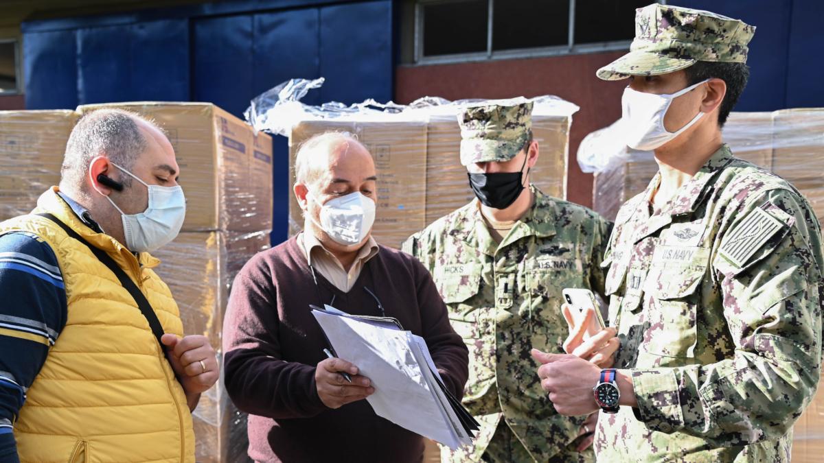 Nas Sigonella stop donazioni profughi Afghanistan