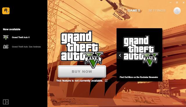 cara download dan install launcher rockstar games