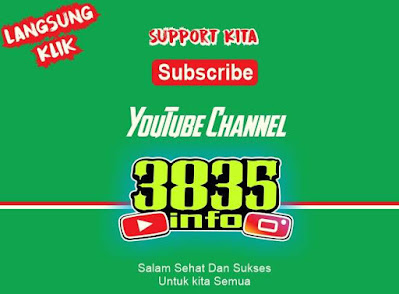 Youtube channel 3835