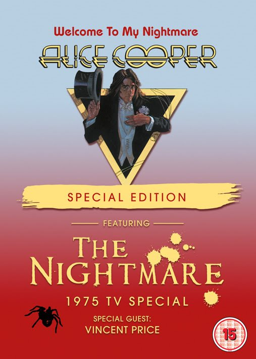 62dd71b6c Welcome to My Nightmare Special Edition DVD