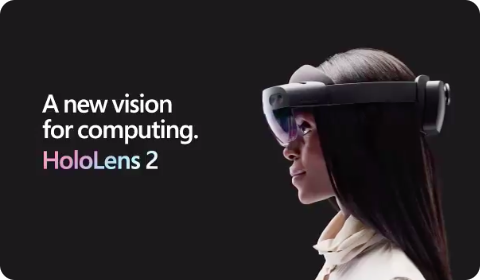 A new vision for computing – Hololens