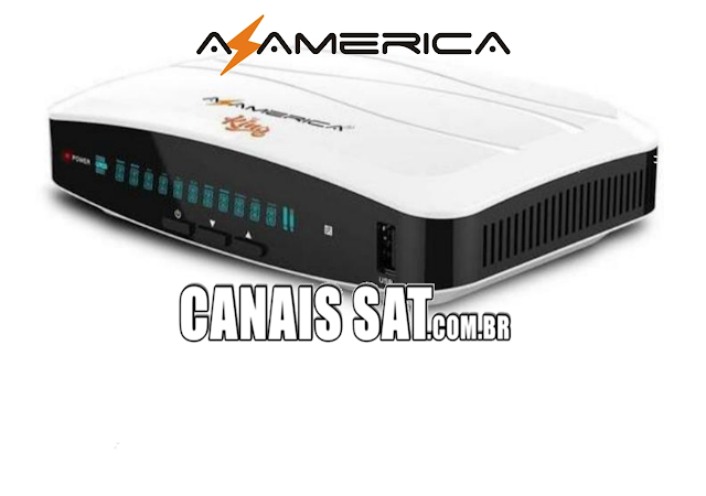 Azamerica King HD Nova Atualização V1.33 - 21/06/2020