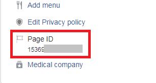 cara mendapatkan page id facebook