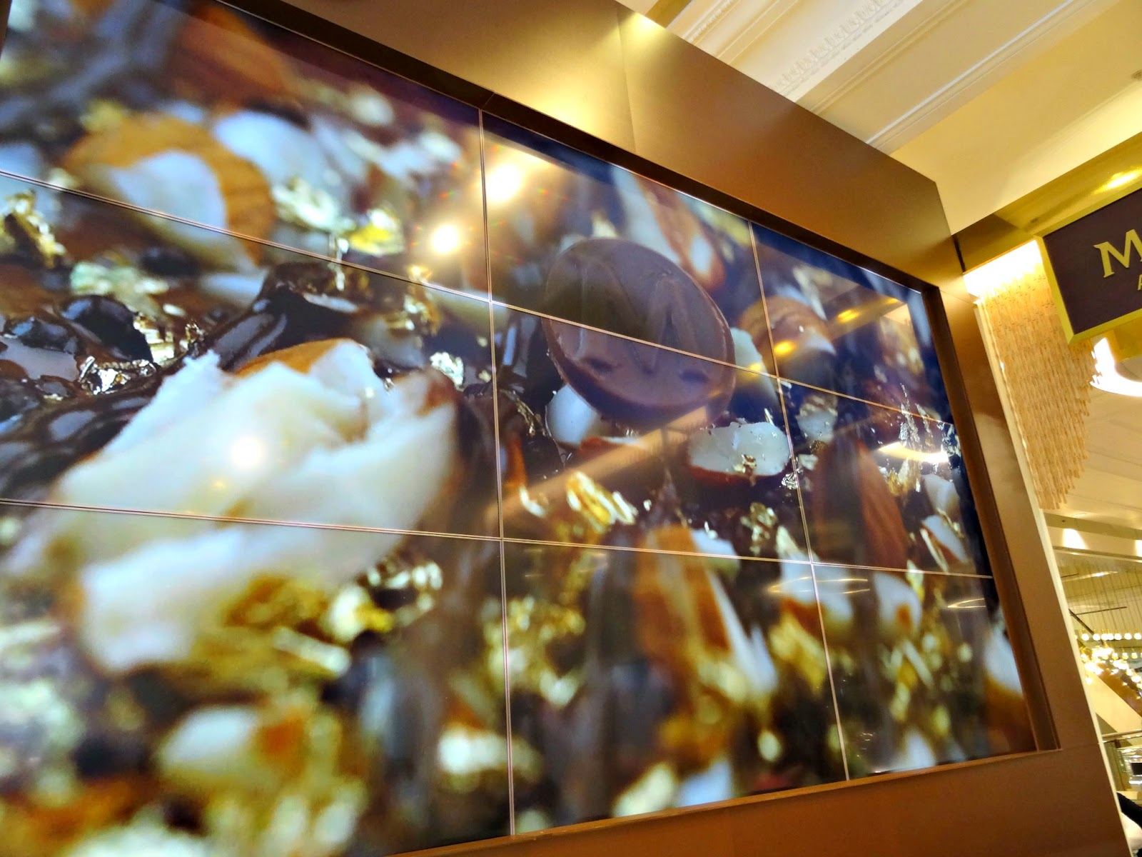Magnum Selfridges screen