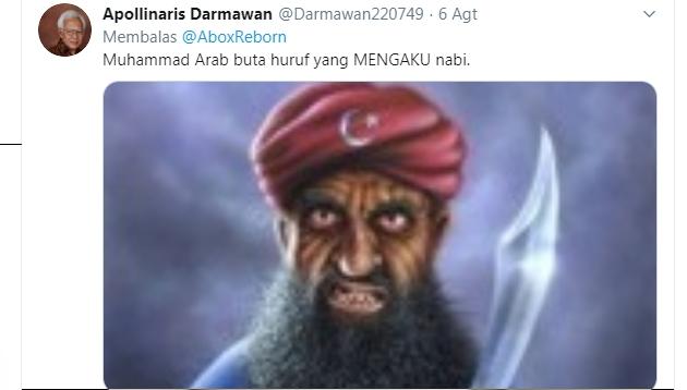 Hina Agama Islam, Apollinaris Darmawan Kembali Masuk Penjara