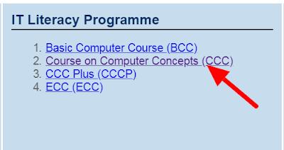 CCC Form Online Registration Kaise Kare