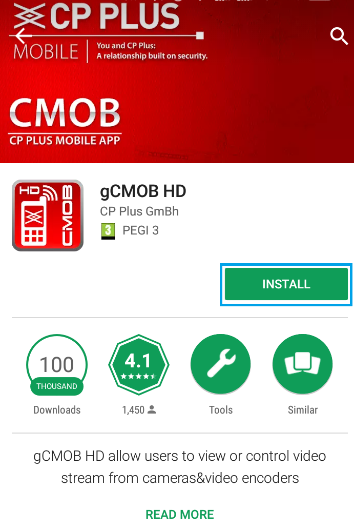 How to configure Cp Plus DVR and view live cctv camera footage online on mobile!!gCMOB APP!!