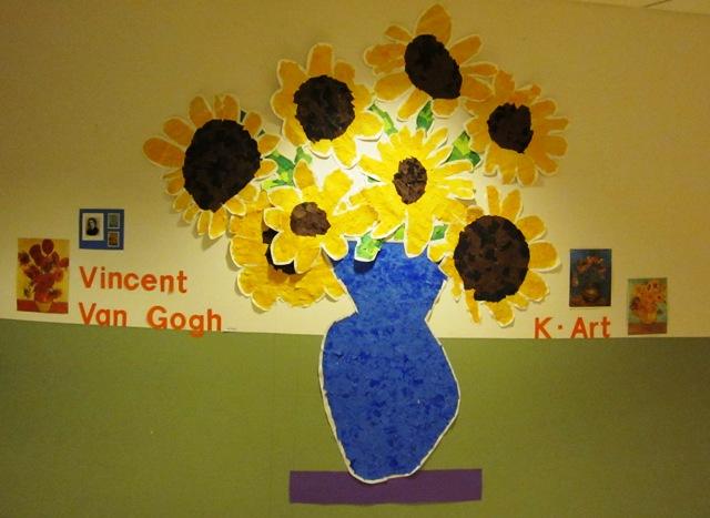 Wes Kindergarten Art Artist Vincent Van Gogh
