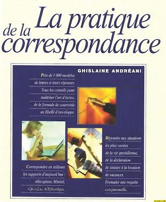 Télécharger Livre Gratuit La pratique de la correspondance pdf