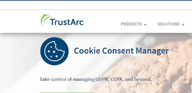 trustarc cookie consent manager