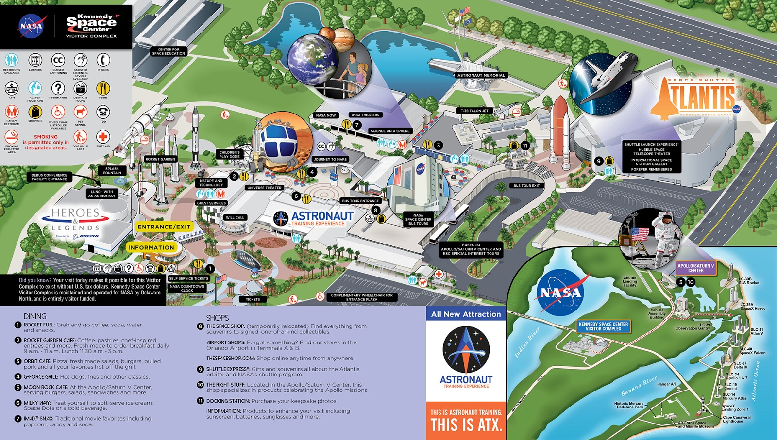 Kennedy Space Center, Cabo Canaveral, Florida