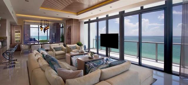 Bảng giá condotel Parami Hồ Tràm Vũng Tàu - Thiết kế phòng khách