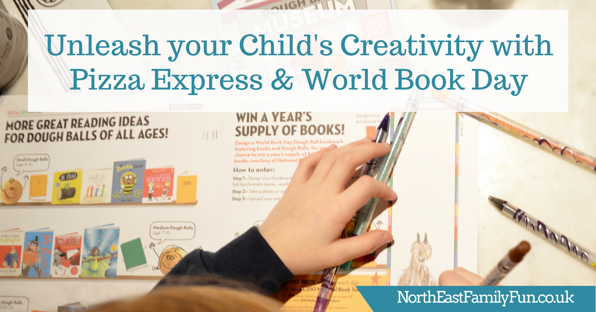 Unleash your Child's Creativity with Pizza Express & World Book Day