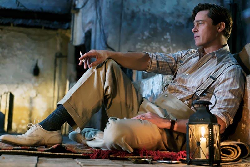 Brad Pitt en Aliados (Allied)