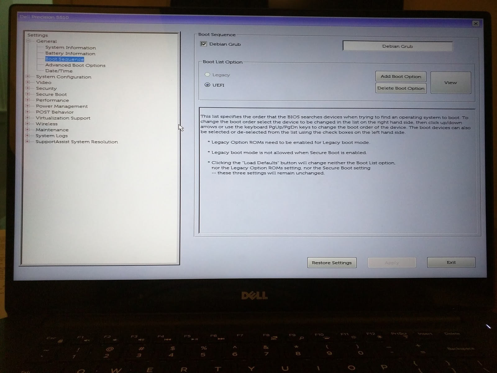 Craig Hesling's Blog: Debian on Dell Precision 5510 (15)