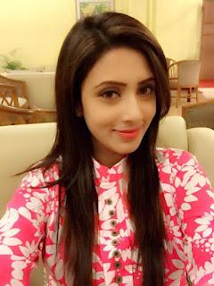 Bidya Sinha Saha Mim Cute Selfie