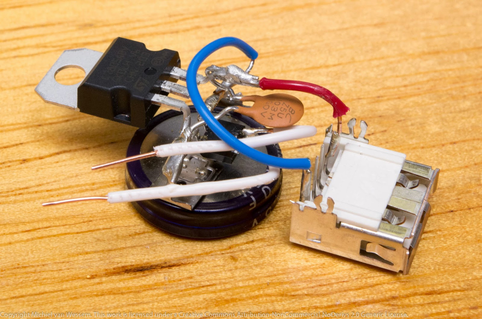 Puny Projects: USB Charger for Bicycle Dynamo or Generator Hub