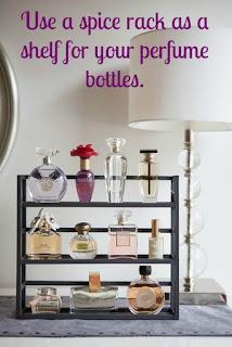 Prateleiras para perfume