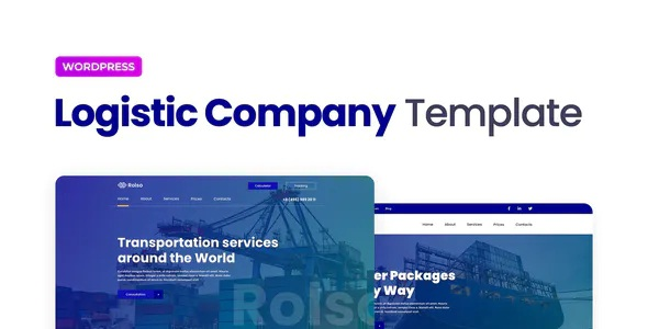 Best Logistic Company Elementor Template Kit