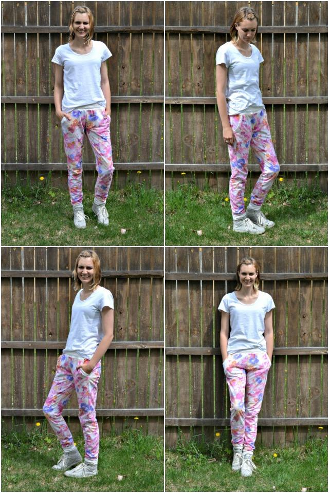 Me Made: Floral Hudson Pants