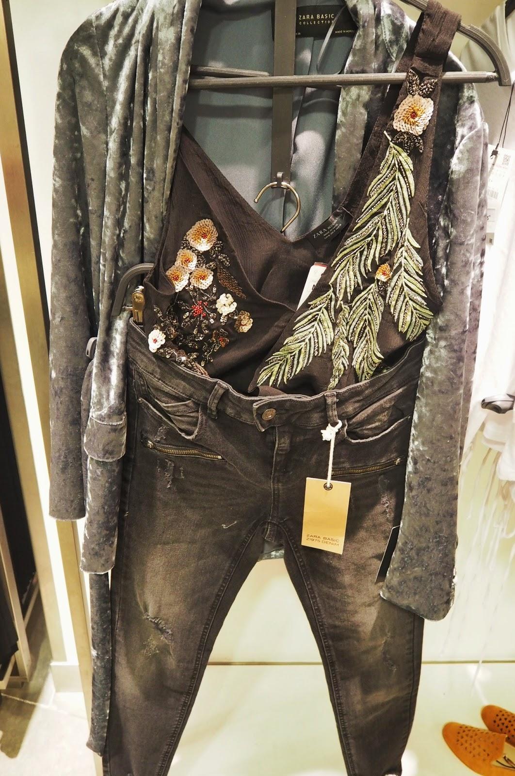 Zara - Tropical emboidered bodysuit