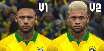 PES 2017 Faces Neymar Jr by ABW_FaceEdit