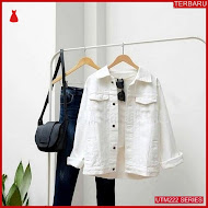 UTM222J48 Baju Jaket Muslim Jeans Dewasa White UTM222J48 0DE | Terbaru BMGShop