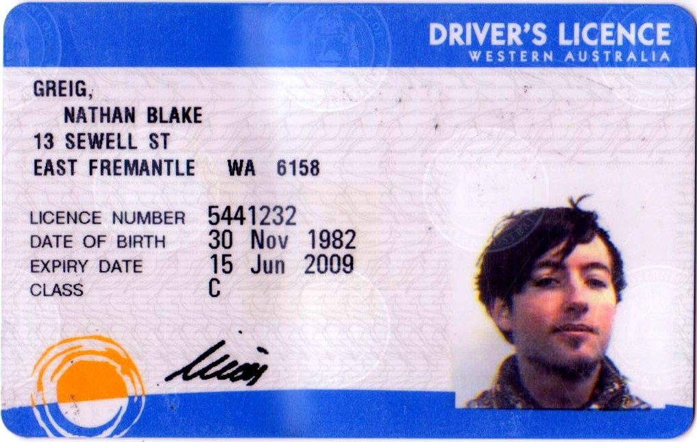 License License Drivers Australian Drivers Drivers Drivers Australian Drivers Australian Australian License Australian License License