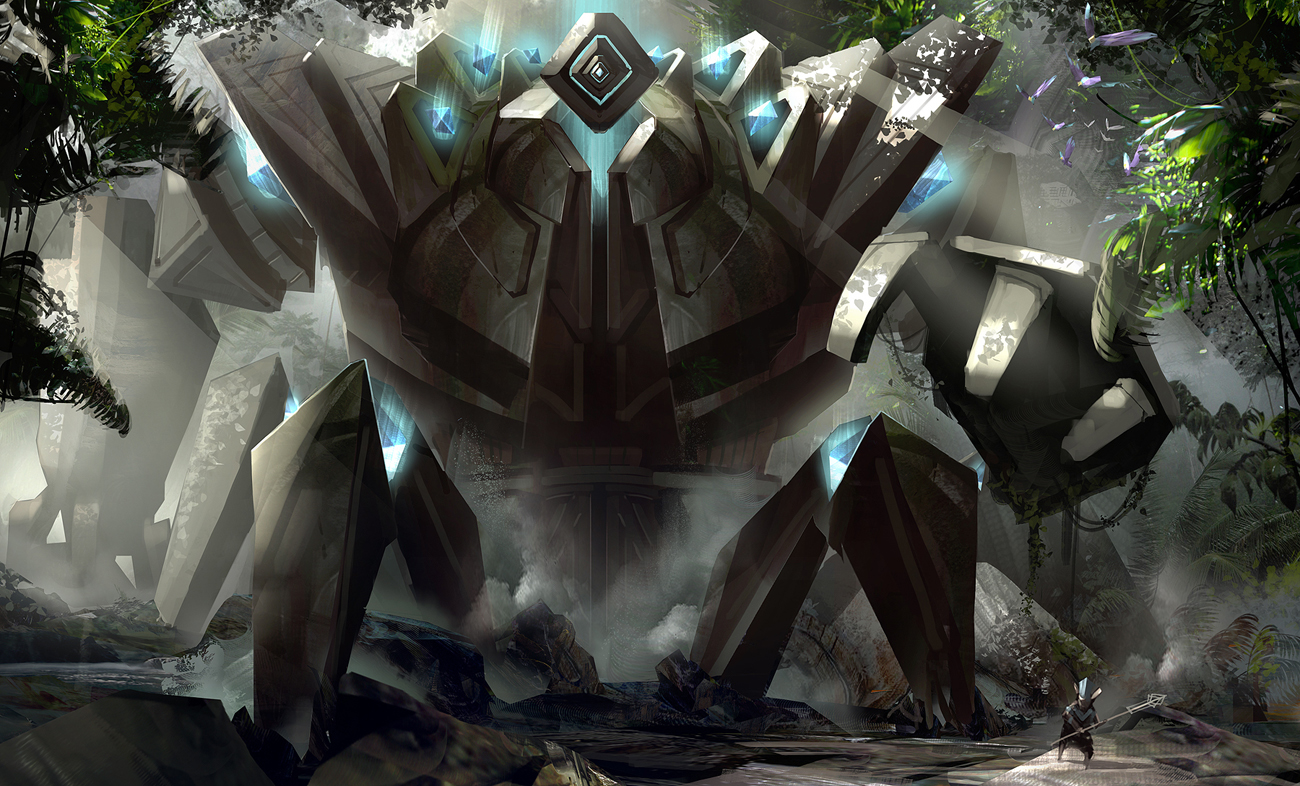 The Art Of Levi Hopkins Giant Golems Furnaces And