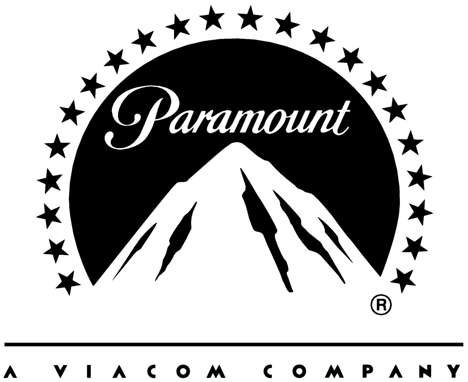 paramount logo black and white - photo #2