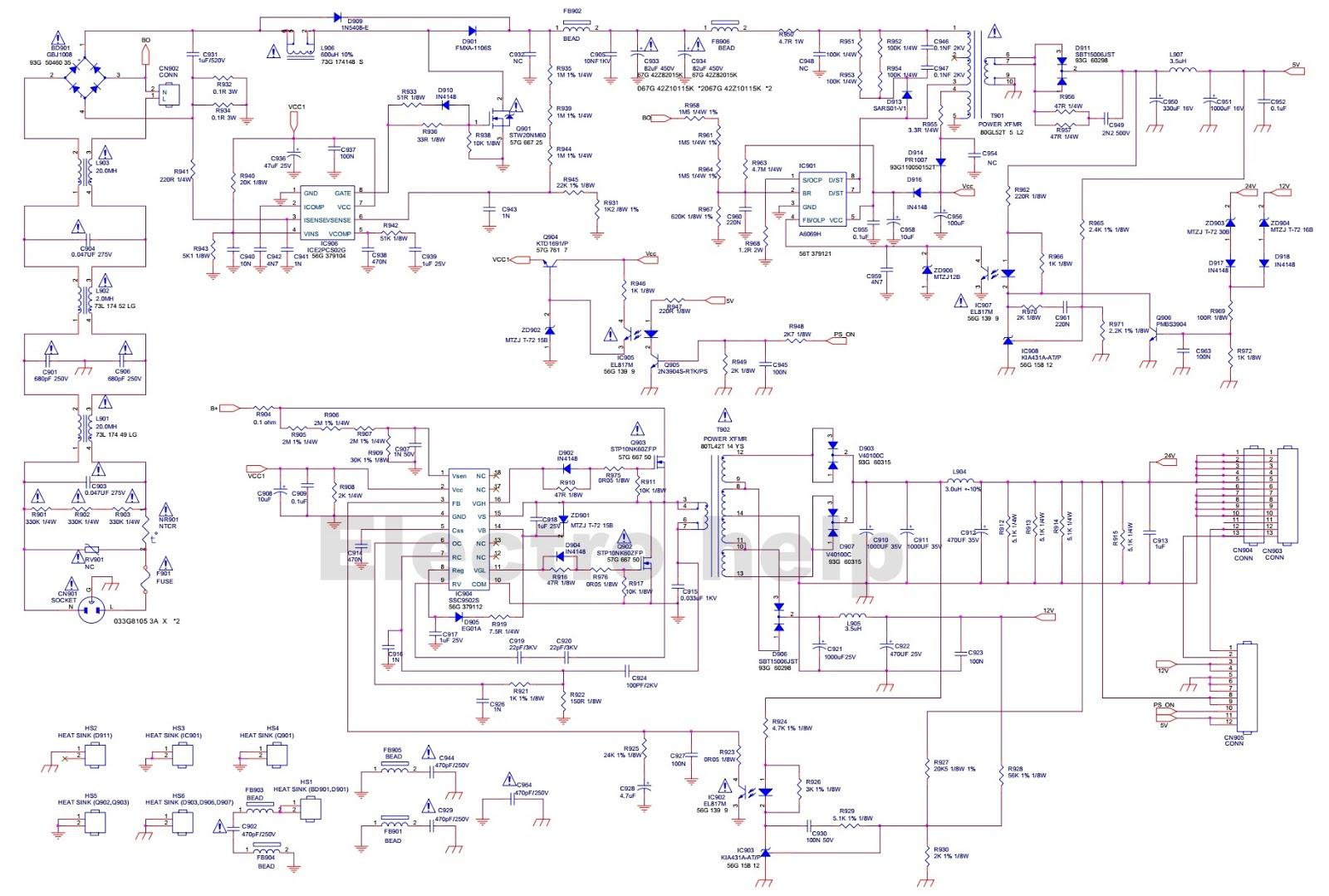 vizio tv wiring diagram vizio sv370 wiring diagram #1