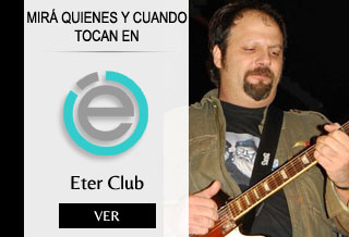Eter Club Villa del Parque Shows