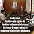 India and Indonesia agree to further enhance bilateral defence cooperation in Defence Ministers' Dialogue