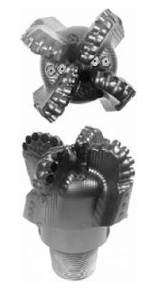 steel Body Drill Bit Type PDC