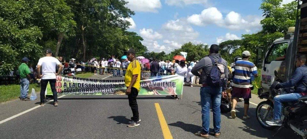Persiste la inconformidad entre las comunidades por proyecto de relleno sanitario