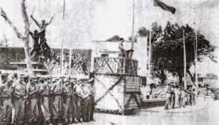 Foto peresmian monumen juang pekalongan 3 oktober 1945