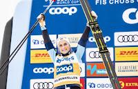ESQUÍ DE FONDO - Therese Johaug alarga el dominio noruego y alza su tercera Copa del Mundo 4 años después