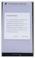 install blocked - bypass samsung account