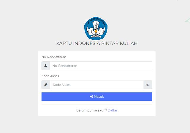 Alamat Website KIP Kuliah
