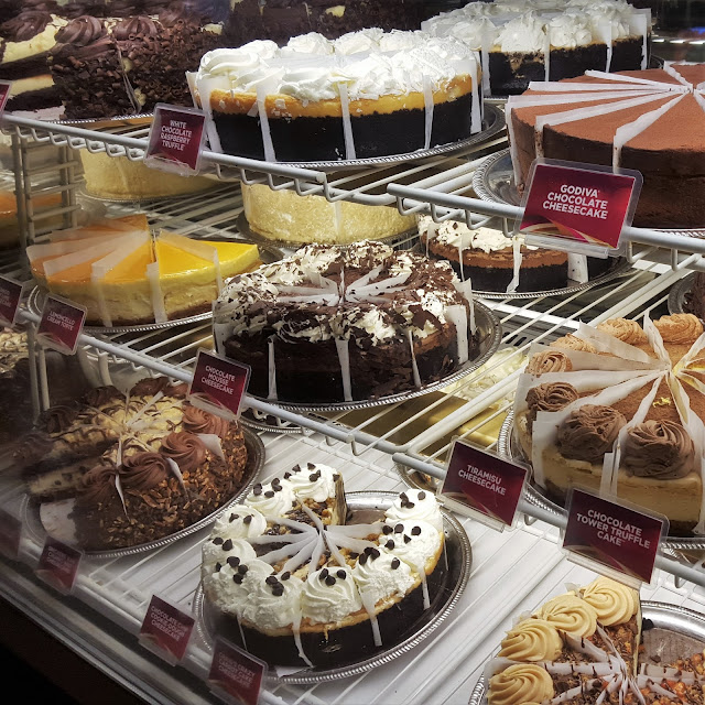 Cheesecake Factory display case