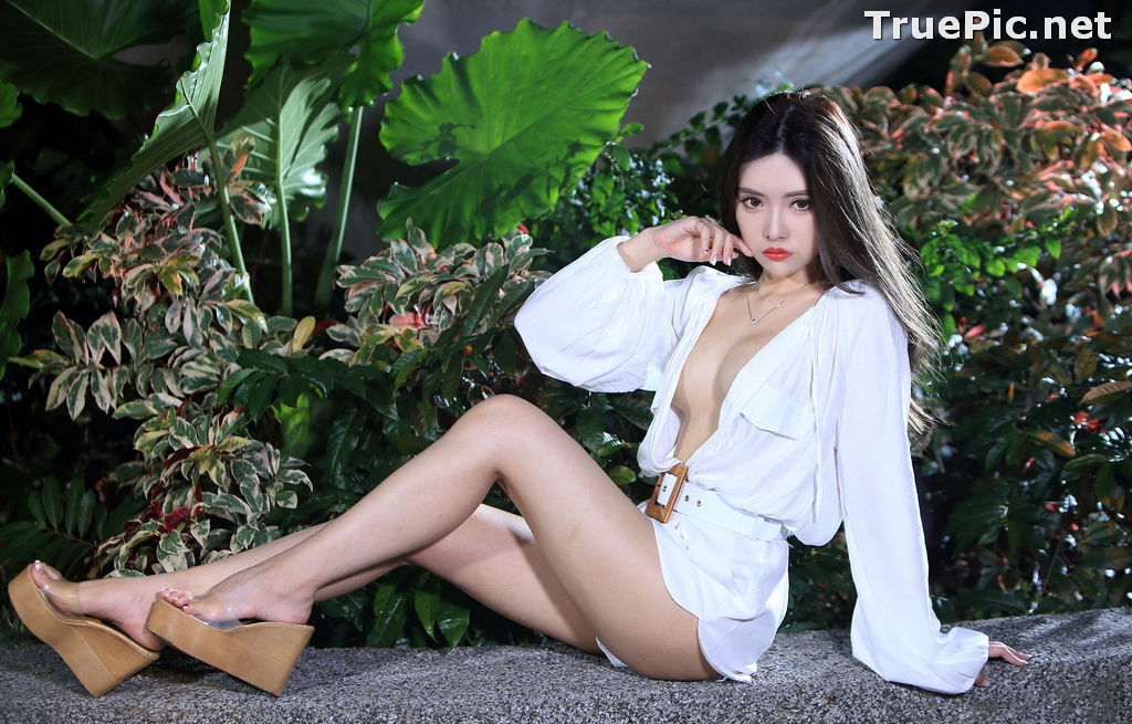 Image Taiwanese Model – 莊舒潔 (ViVi) – Sexy and Pure Baby In Night - TruePic.net - Picture-80